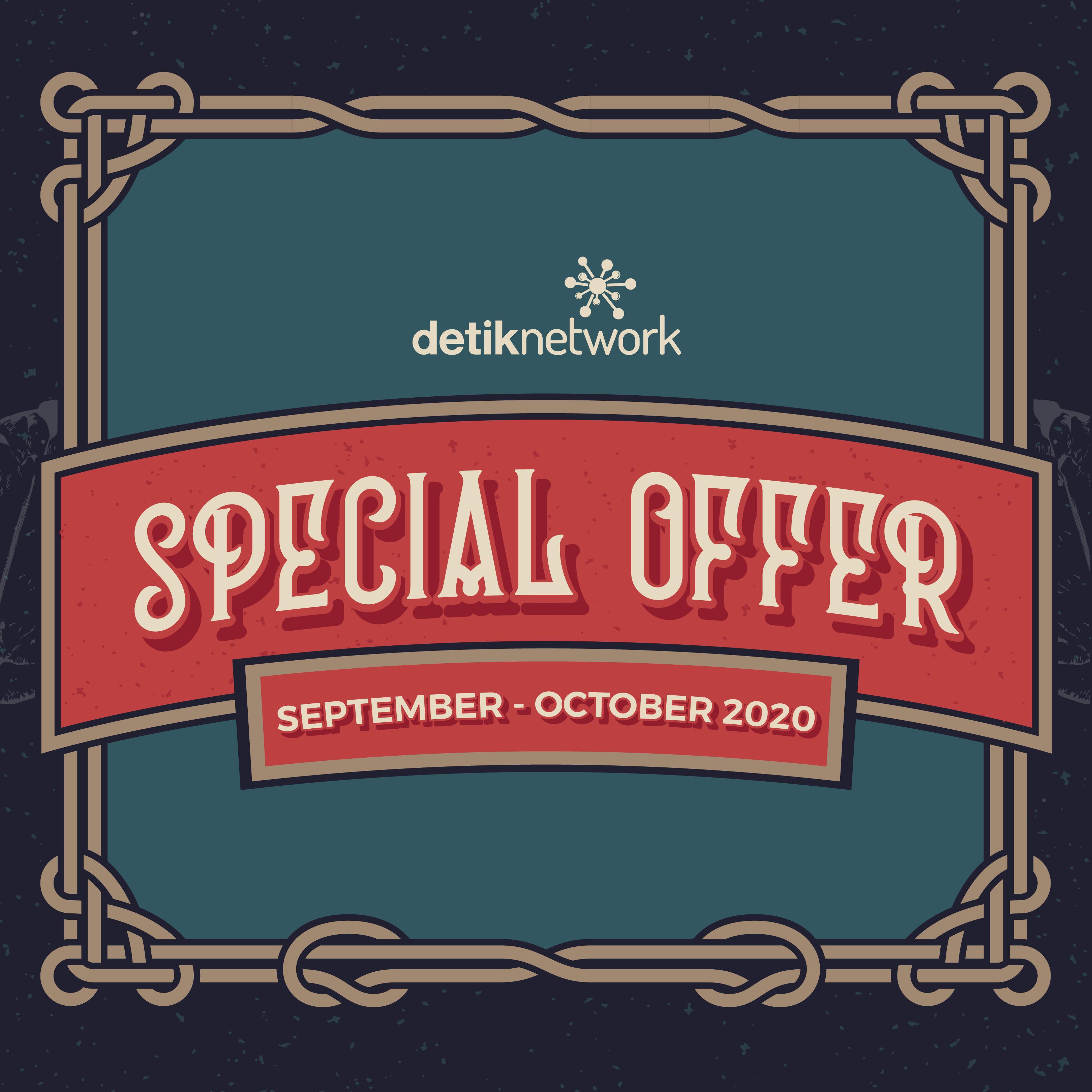 Special Offer September - October